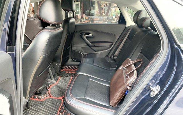 Bán Volkswagen Polo 1.6AT sản xuất 2015, màu xanh lam, nhập khẩu 4