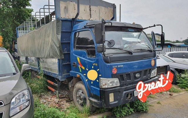 Ngân hàng bán đấu giá xe tải mui bạt Veam VT7501