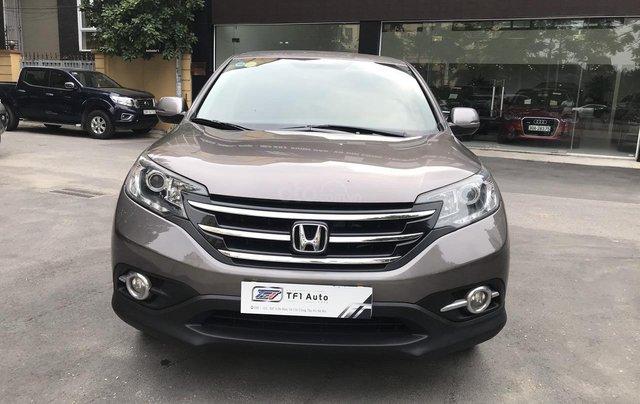 Cần bán xe Honda CR V 2.0L 2013, màu xám0