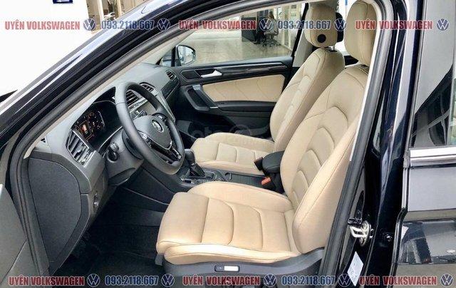 Ưu đãi phí trước bạ + quà tặng phụ kiện chính hãng Tiguan Luxury 2.0TSI màu đen - nội thất kem sang trọng, LH Ms Uyên4