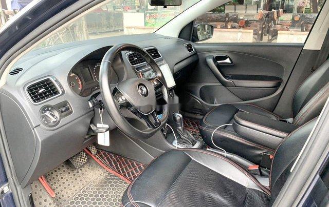 Bán Volkswagen Polo 1.6AT sản xuất 2015, màu xanh lam, nhập khẩu 3