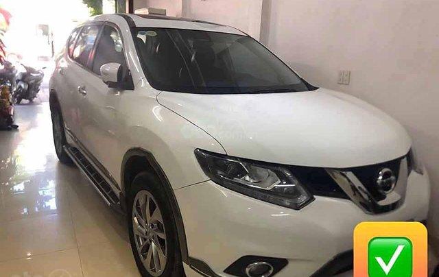 Cần bán xe Nissan X trail SL sản xuất 2017, màu trắng, nhập khẩu, giá tốt0