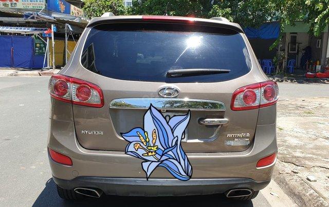 Bán Hyundai Santa Fe máy dầu EVGT 2.0, số tự động, đời cuối 2011, màu nâu tuyệt đẹp, mới 80%2