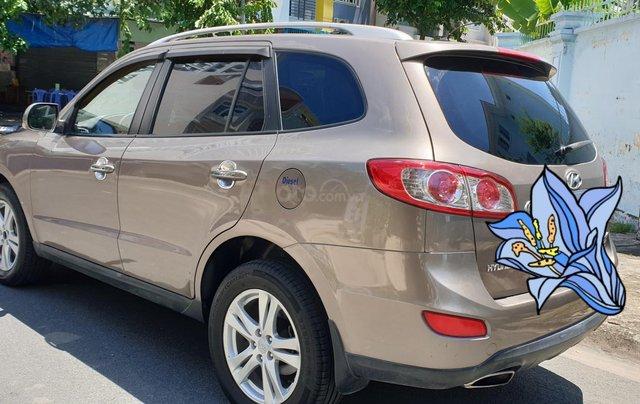 Bán Hyundai Santa Fe máy dầu EVGT 2.0, số tự động, đời cuối 2011, màu nâu tuyệt đẹp, mới 80%3