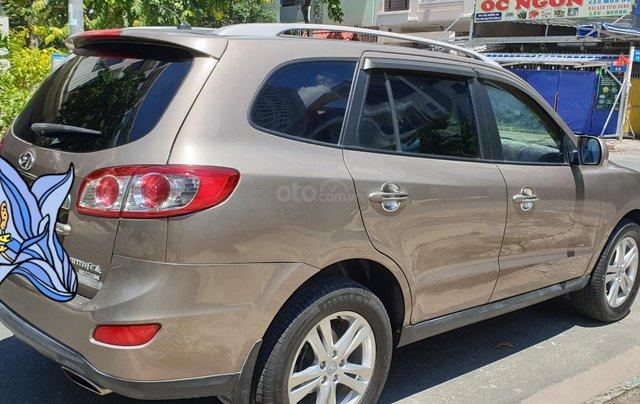 Bán Hyundai Santa Fe máy dầu EVGT 2.0, số tự động, đời cuối 2011, màu nâu tuyệt đẹp, mới 80%4