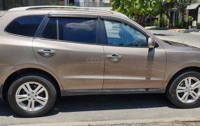 Bán Hyundai Santa Fe máy dầu EVGT 2.0, số tự động, đời cuối 2011, màu nâu tuyệt đẹp, mới 80%5