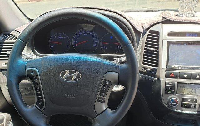 Bán Hyundai Santa Fe máy dầu EVGT 2.0, số tự động, đời cuối 2011, màu nâu tuyệt đẹp, mới 80%10