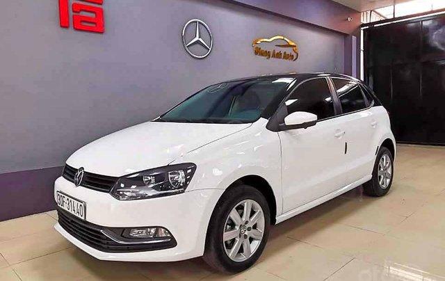 Bán Volkswagen Polo 1.6 AT năm 2016, màu trắng, xe nhập, giá tốt0