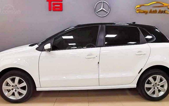 Bán Volkswagen Polo 1.6 AT năm 2016, màu trắng, xe nhập, giá tốt5