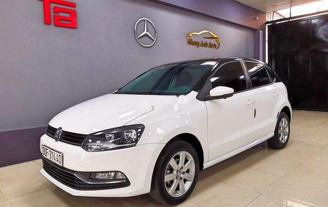 Cần bán lại xe Volkswagen Polo năm sản xuất 2016, màu trắng  1