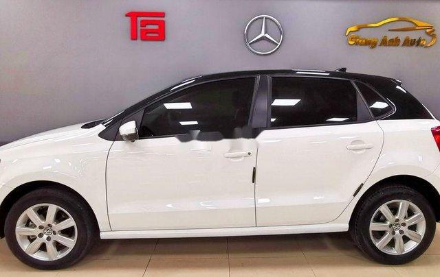 Cần bán lại xe Volkswagen Polo năm sản xuất 2016, màu trắng  2