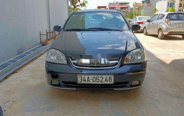 Xe Daewoo Lacetti sản xuất 2009, màu xanh lam còn mới1