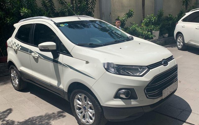 Cần bán Ford EcoSport năm 2016, màu trắng, giá tốt2