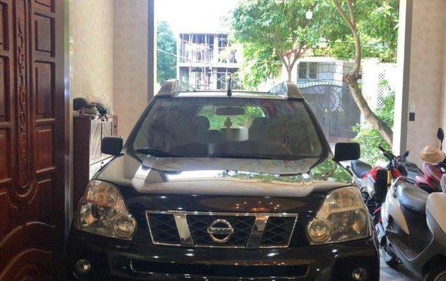 Bán Nissan X trail đời 2007, màu đen, dáng SUV0
