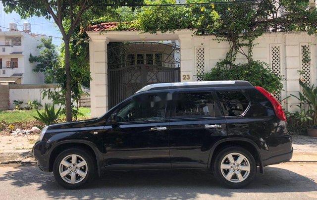 Bán Nissan X trail đời 2007, màu đen, dáng SUV8