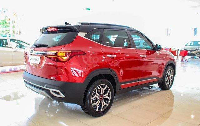 Kia Seltos 2020 màu đỏ, Seltos Premium 719 triệu - đưa trước 205 triệu nhận xe + phụ kiện chính hãng3