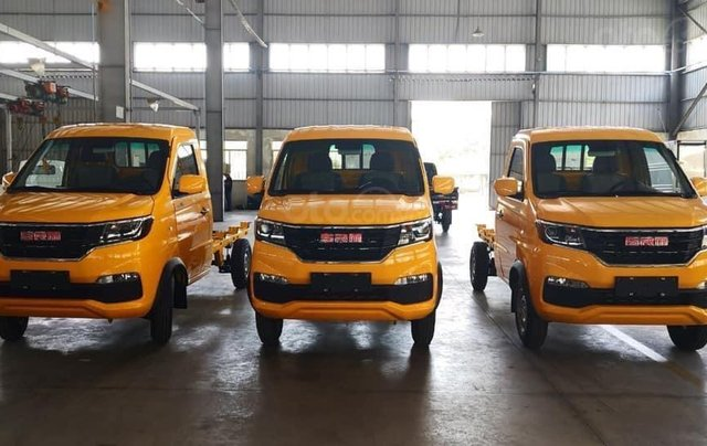 Xe tải Dongben SRM 930kg thùng kín đời 20200