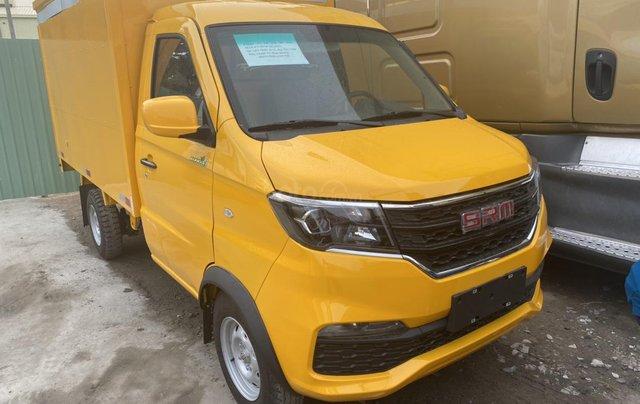 Xe tải Dongben SRM 930kg thùng kín đời 20201