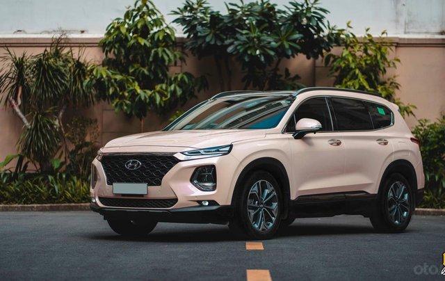 Bán Hyundai Santa Fe 2020 chỉ từ 293 triệu - ưu đãi lớn, giảm giá tiền mặt + tặng kèm phụ kiện chính hãng0