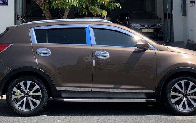Bán Kia Sportage sản xuất năm 2011 màu nâu, đã đi 48000 km10