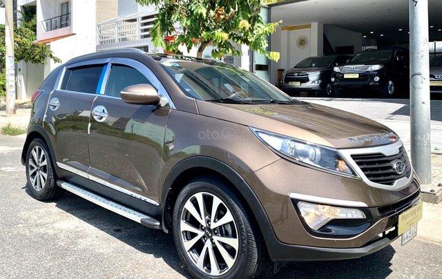 Bán Kia Sportage sản xuất năm 2011 màu nâu, đã đi 48000 km11
