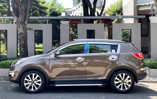 Bán Kia Sportage sản xuất năm 2011 màu nâu, đã đi 48000 km12