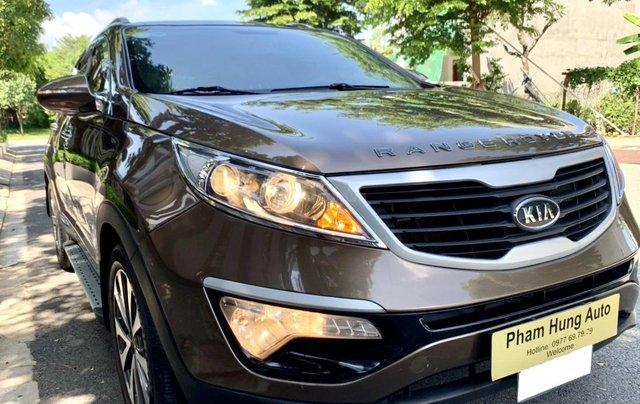 Bán Kia Sportage sản xuất năm 2011 màu nâu, đã đi 48000 km13
