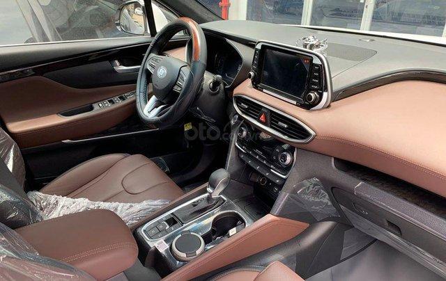 Hyundai SantaFe cao cấp xăng dầu giảm ~ 100% thuế trước bạ1