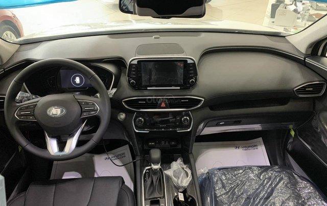 Hyundai SantaFe cao cấp xăng dầu giảm ~ 100% thuế trước bạ2