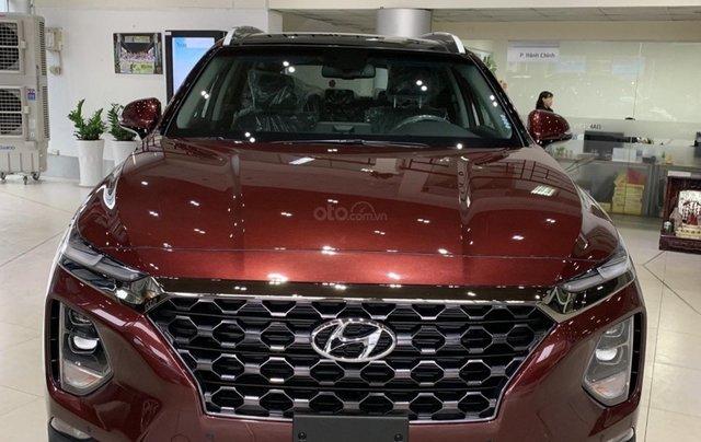 Hyundai SantaFe cao cấp xăng dầu giảm ~ 100% thuế trước bạ3