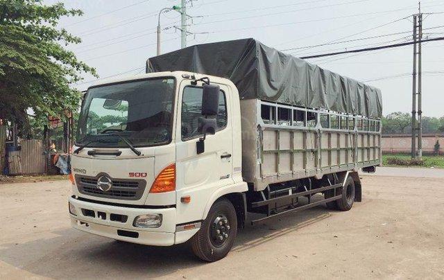 Xe tải FC (2020) với bản thùng dài 7,3m, tải trọng 6 tấn3