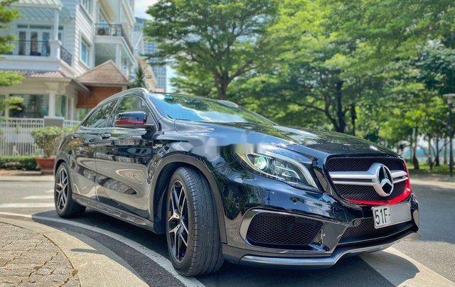 Bán xe Mercedes GLA 45AMG năm 2015, màu đen, nhập khẩu còn mới5