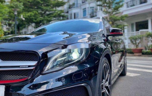 Bán xe Mercedes GLA 45AMG năm 2015, màu đen, nhập khẩu còn mới2