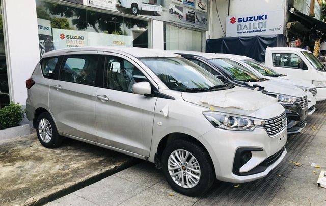 Suzuki Ertiga 2020 hỗ trợ trước bạ 50% tặng gói phụ kiện hấp dẫn, tặng bảo hiểm vật chất. Gọi ngay, giá tốt nhất Sài Gòn1