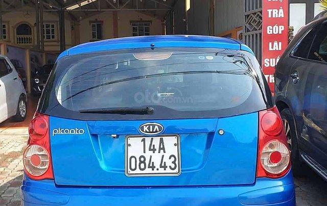 Bán xe Kia Picanto đời 2007, màu xanh lam, nhập khẩu nguyên chiếc, giá chỉ 167 triệu4