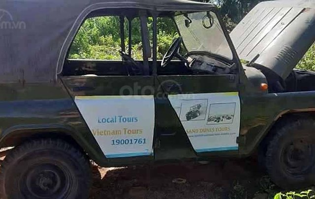 Cần bán xe UAZ đời 1999, xe nhập, màu xanh rêu, giá 54tr2