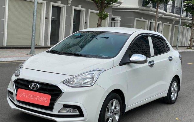 Bán chiếc Hyundai I10 SX 2019, bản đủ, giá 345tr, còn thương lượng khi coi xe4