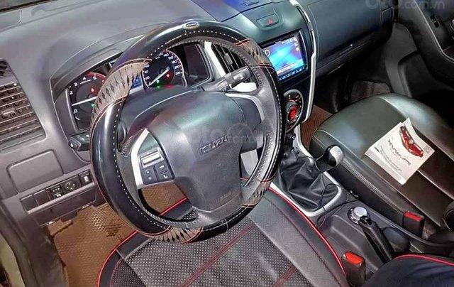 Cần bán Isuzu Dmax đời 2017, màu bạc, xe nhập 4