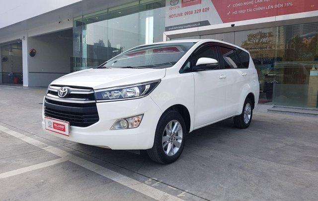 Cần thanh lý xe Toyota Innova 2.0G 6AT, màu trắng xe công ty XHĐ đủ đi 52.000km - xe chính hãng giá tốt1