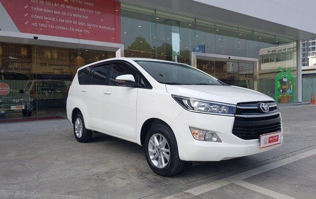 Cần thanh lý xe Toyota Innova 2.0G 6AT, màu trắng xe công ty XHĐ đủ đi 52.000km - xe chính hãng giá tốt2