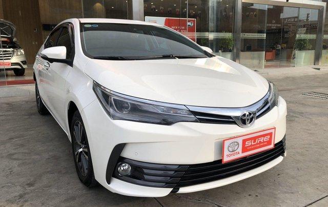 Cần bán xe Toyota Altis 2.0V 2017, màu trắng công ty. XHĐ đi 22.000km - xe chất giá tốt1