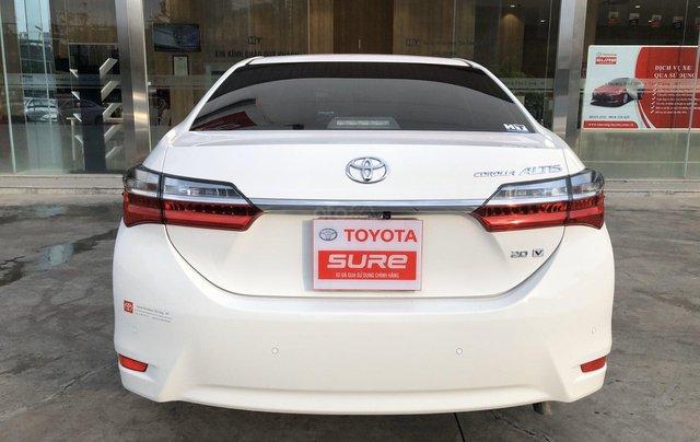 Cần bán xe Toyota Altis 2.0V 2017, màu trắng công ty. XHĐ đi 22.000km - xe chất giá tốt5