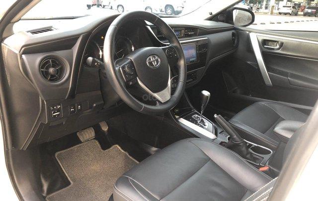 Cần bán xe Toyota Altis 2.0V 2017, màu trắng công ty. XHĐ đi 22.000km - xe chất giá tốt8