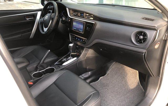 Cần bán xe Toyota Altis 2.0V 2017, màu trắng công ty. XHĐ đi 22.000km - xe chất giá tốt9