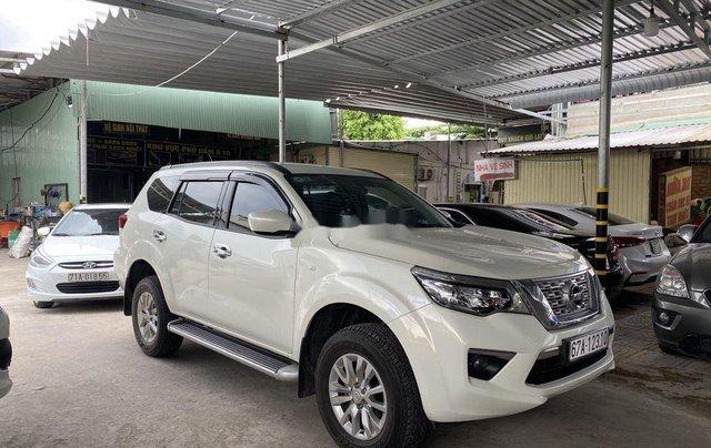 Bán Nissan Terra đời 2019, màu trắng, nhập khẩu  0