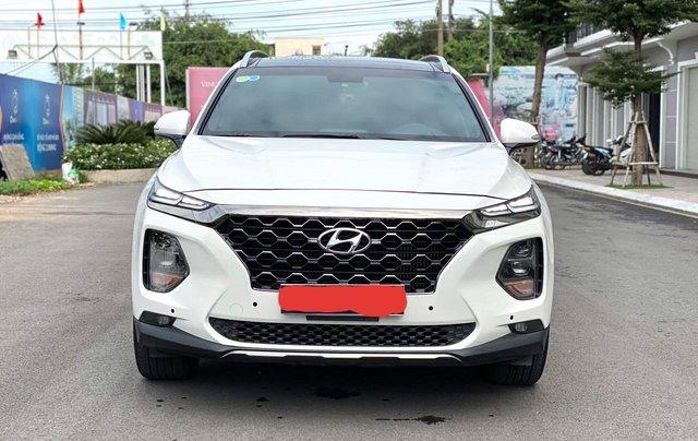 Bán Hyundai Santa Fe 2019, máy dầu, bản đặc biệt giá chỉ 1 tỷ 190 triệu0