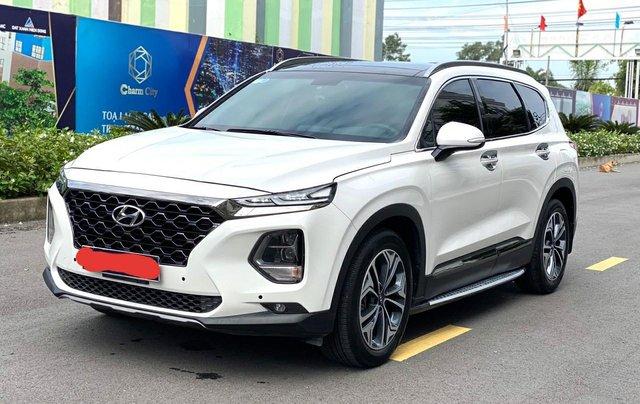 Bán Hyundai Santa Fe 2019, máy dầu, bản đặc biệt giá chỉ 1 tỷ 190 triệu1