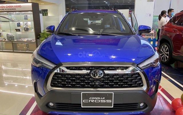 Corolla Cross 2020 đủ phiên bản, đủ màu giao ngay tại Toyota Phan Văn Trị- GV0