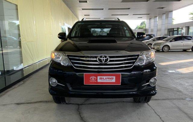 Bán Toyota Fortuner sản xuất 2016, 725 triệu0