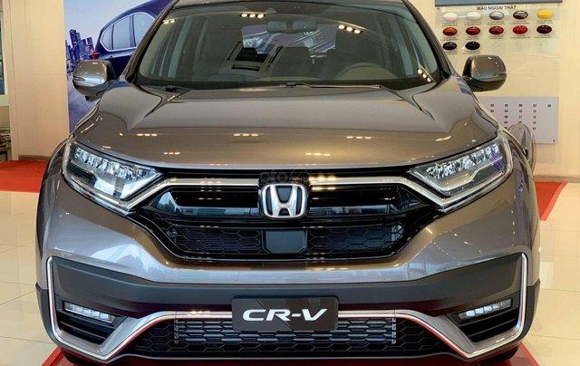 Honda CRV Facelift 2020 mới nhất, đại lý Honda Tây hồ khuyến mãi 100 triệu, tặng tiền mặt, phụ kiện0